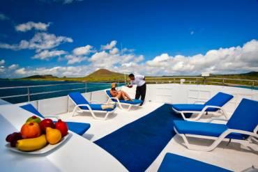 Monserrat Galapagos Cruises Sun Deck